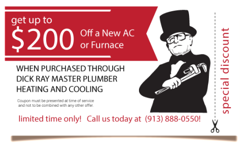 $200 Off New AC or Furnace