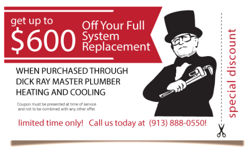 $600 Off Full System Replacement