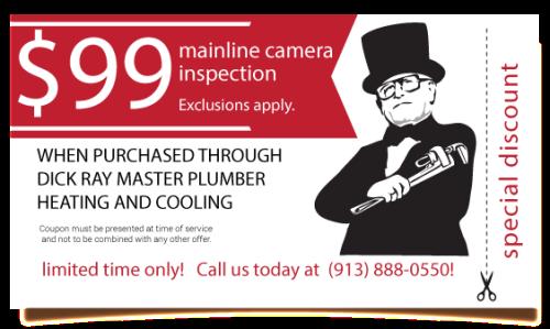 mainline camera inspection